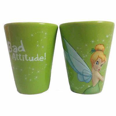 disney parks wdw tinker bell bad attitude 2 oz shot glass new