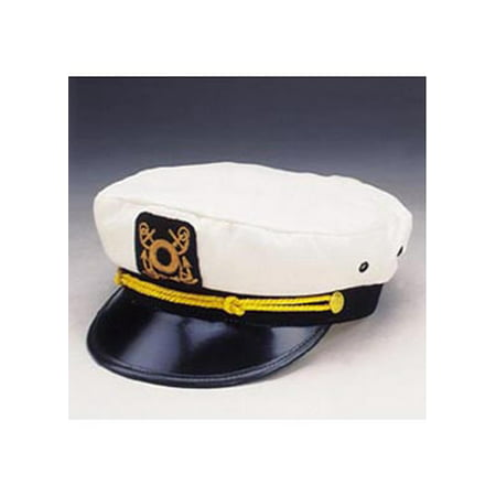Adult Yacht Cap Jacobson Hat - Train Engineer Hat For Adults