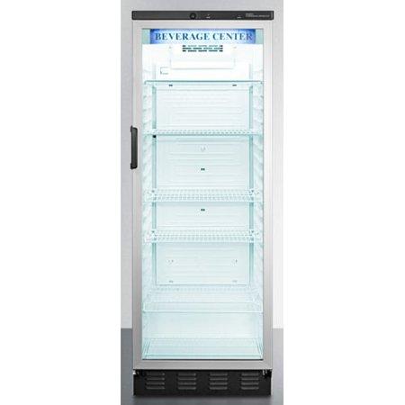 Summit Scr1300css 24 Inch Wide 13 0 Cu Ft Merchandiser Refrigerator With Tropi