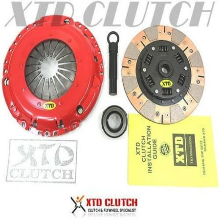 XTD STAGE 3 DUAL FRICTION CLUTCH KIT VW GOLF JETTA PASSAT CORRADO VR6 2.8L (Vw Jetta Vr6)