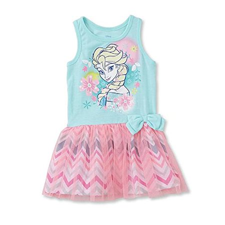 Disney Frozen Toddler Girls' Tank Dress - Elsa Size 2T