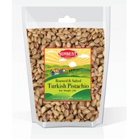 Sunbest Natural  Turkish Pistachios Antep 3 Lbs / 48 oz Roasted and Salted In Resealable bag