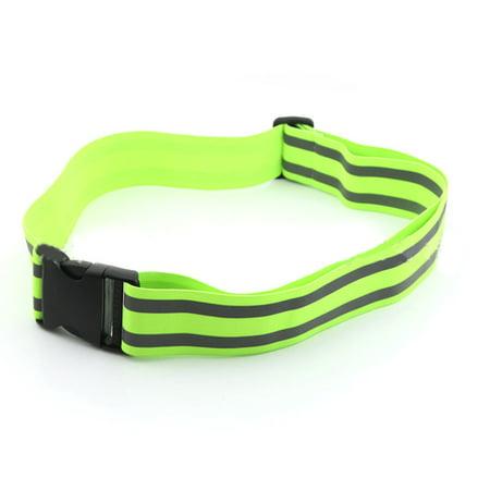 Reflective Belt Kids Women Men Safety High Visibility Belt for Cycling Climbing