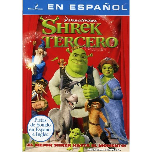 Shrek The Third (Spanish Language Packaging) (Full Frame)