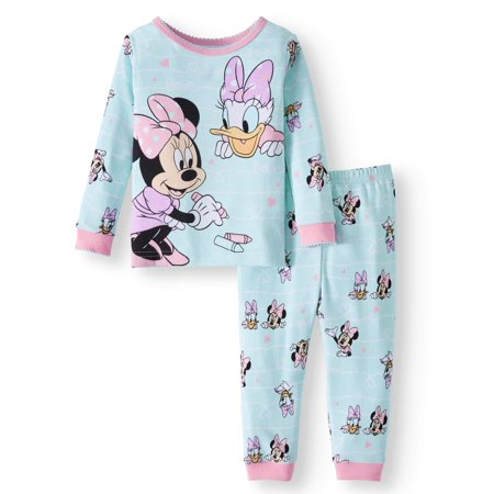 Minnie Mouse Cotton Tight Fit Pajamas, 2-piece Set (Baby Girls) for $<!---->