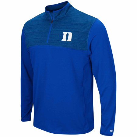 Duke Blue Devils Adult NCAA Savory 1/4 Zip Windshirt  - (Duke Blue Devils Paper)