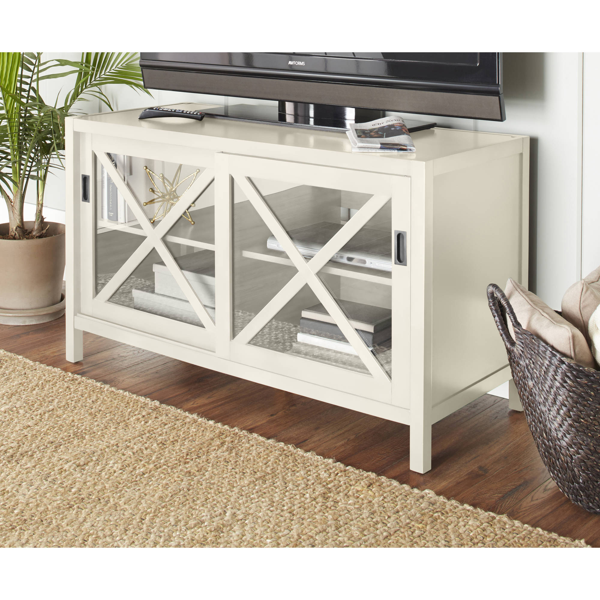 10 Spring Street Winslow Media Cabinet in Multiple Colors by