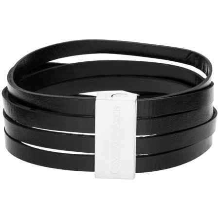 Calvin Klein Jeans Jewelry Ground Black Bracelet