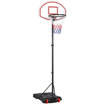 SmileMart Height Adjustable Basketball Hoop System