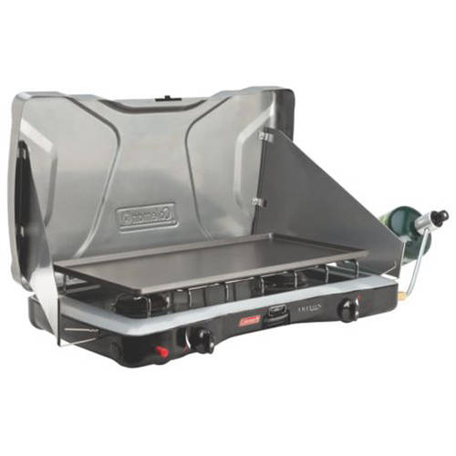 Coleman Portable Propane Gas Classic Stove with 2 Burners ...
