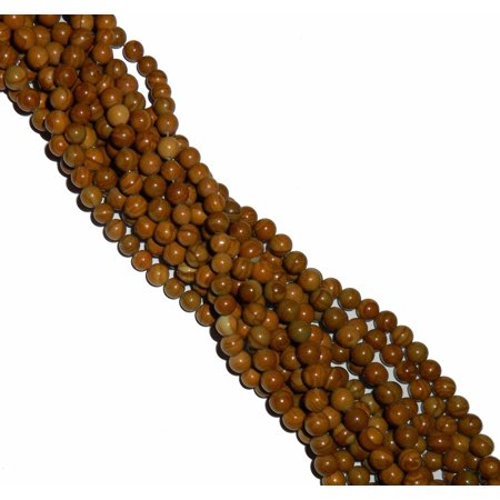 8mm Golden Lace Agate Round, Loose Beads, 40cm 15 inch Gemstone - Gemstone Heart Pendant Bead
