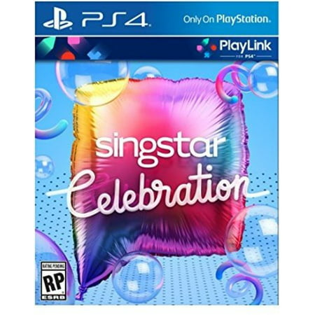 Singstar Celebration, Sony, PlayStation 4, 711719511250