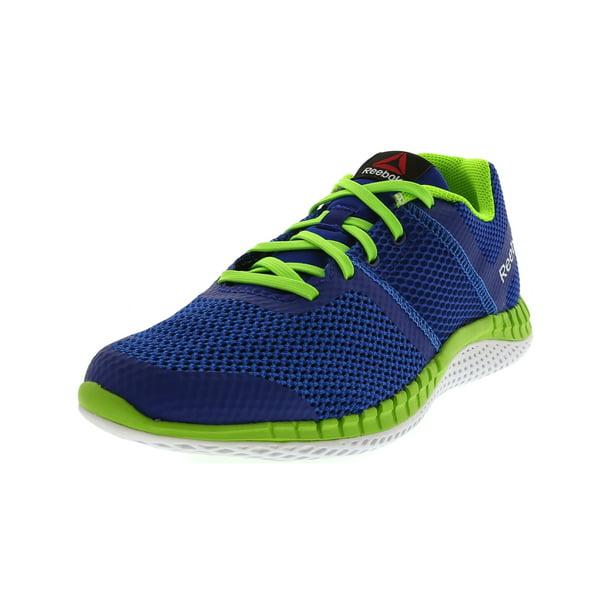 Predecessore Feudale opera  Reebok - Reebok Zprint Run Blue / Royal Green White Ankle-High Running Shoe  - 5.5M - Walmart.com - Walmart.com