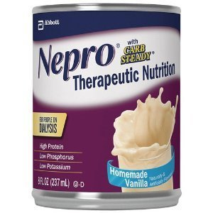 Nepro Ready To Drink Vanilla With Carb Steady  8Oz Can   48 Count