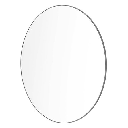 Sabi by Honey Can Do Anti-Fog Bathroom Vanity Mirror, Gray - Grey Polarized Mirror