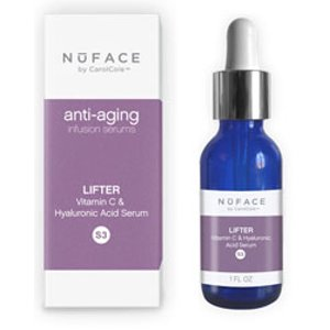 NuFACE Lifter - Vitamin C & Hyaluronic Acid Serum, 1.0 fl. oz.