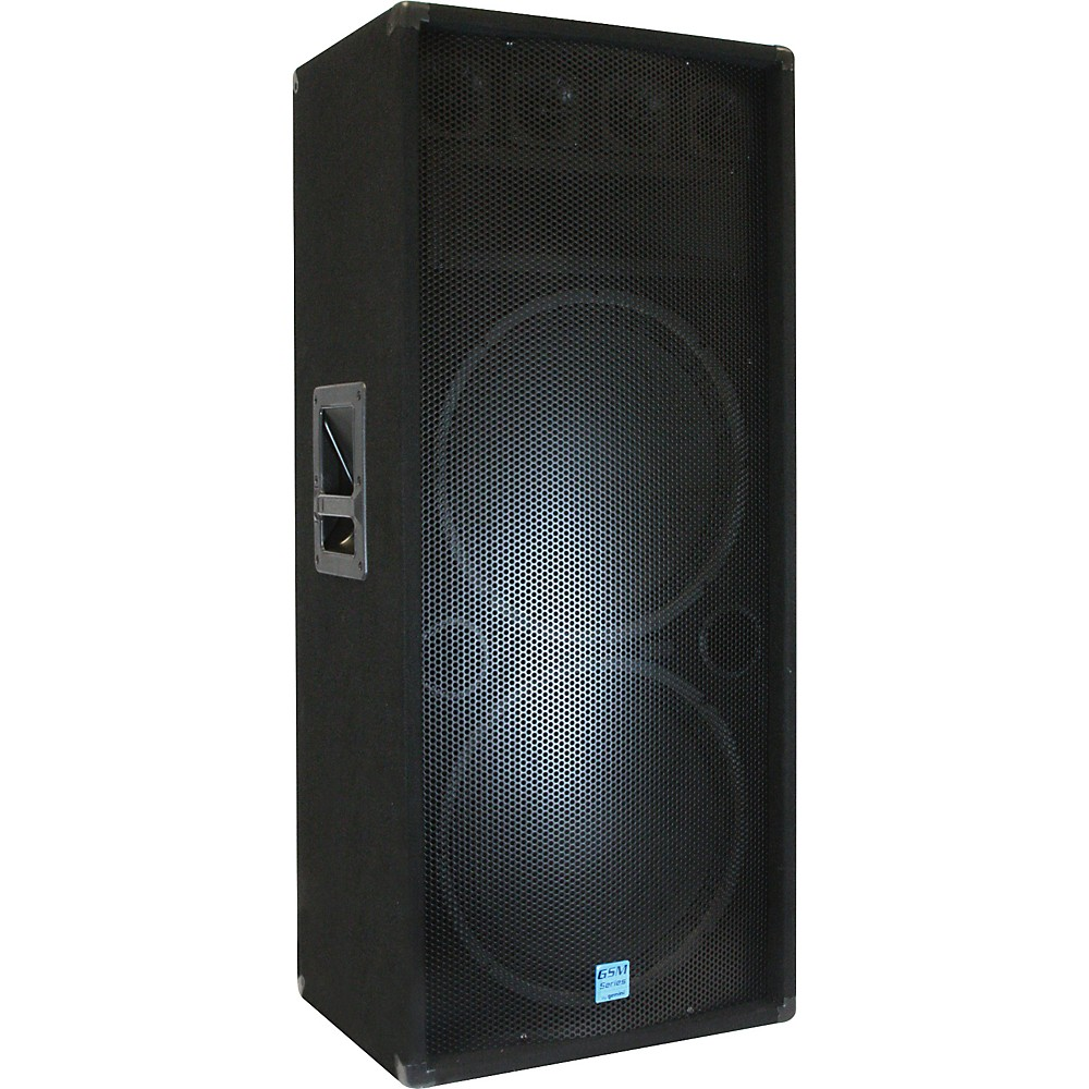 "Gemini Gsm3250 Dual 15"" 3 Way Dj Spkrs by"