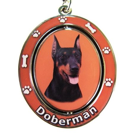 Doberman Key Chain