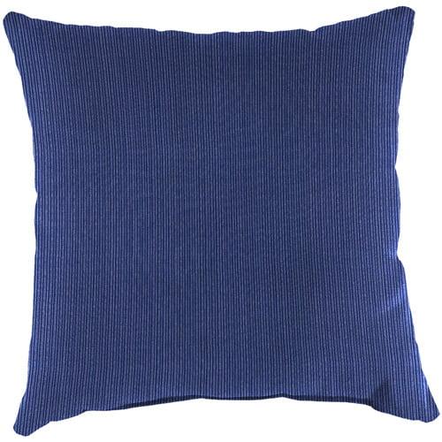 """Jordan Manufacturing Indoor/Outdooor 16"""" Toss Pillow, Marine"""