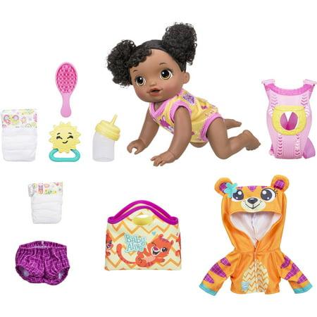 Baby Alive Baby Go Bye Bye  African American  Exclusive Value Bundle