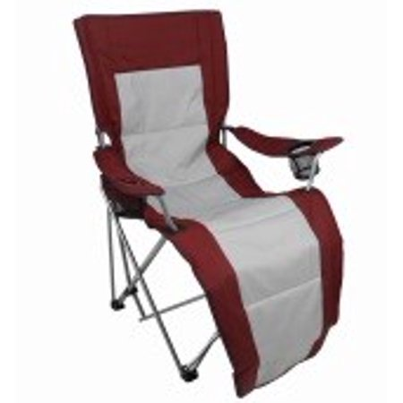 Stupendous Ozark Trail Compact Folding Reclining Chair With Cup Holders Ibusinesslaw Wood Chair Design Ideas Ibusinesslaworg