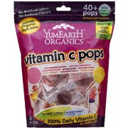 YumEarth Organics Vitamin C Pops, 8.5 oz, (Pack of 12 )