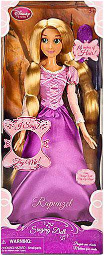 Disney Tangled Rapunzel Doll [Singing] by