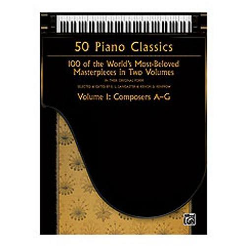 Alfred 50 Piano Classics, Volume 1: Composers A-G by Alfred Publishing Company