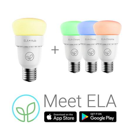 ELA Smart Hub & 3 Chroma Bulb - Starter Kit | Walmart Canada
