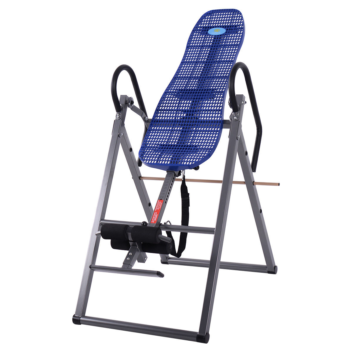 Foldable ABS Inversion Table Gravity Therapy Back Pain Fi...