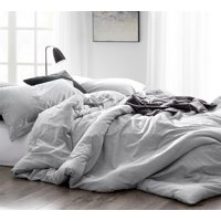 BYB Natural Loft Comforter - Yarn Dyed Gray
