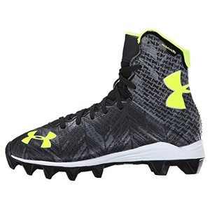 NEW Boys Under Armour Jr Highlight RM Lacrosse|Football Cleats Black - Any Size
