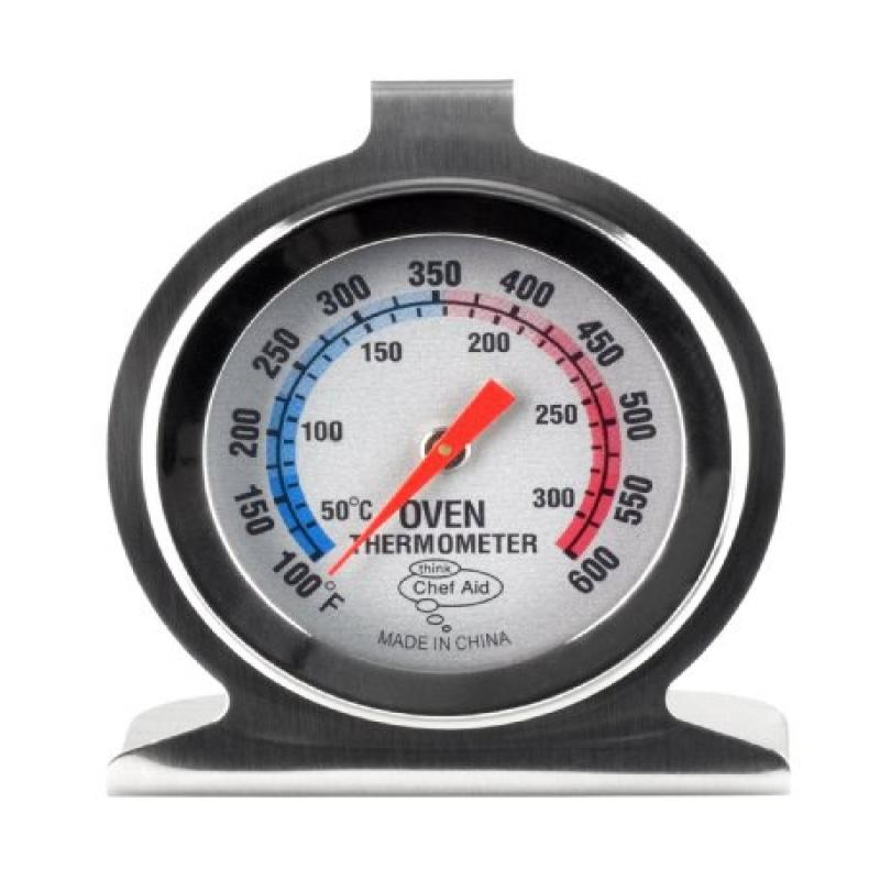 Chef Aid 10e00056 Metal Oven Thermometer by