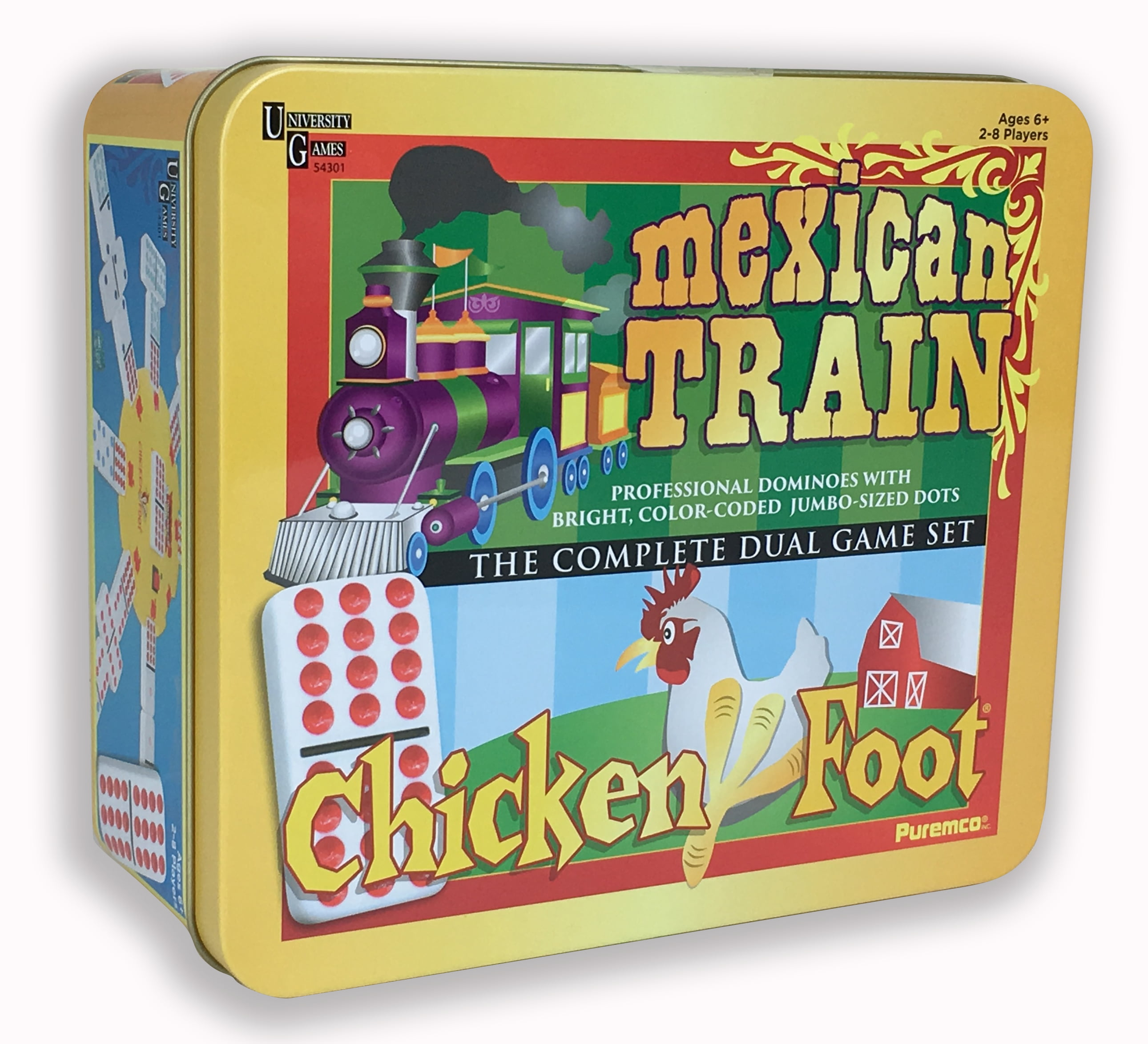 Mexican Trainchickenfoot Dual Game Set Walmart