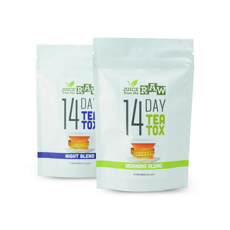 Juice From the RAW - 14 Day Teatox (Weight Loss Detox Tea) - 21