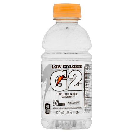 G2 Thirst Quencher Low Calorie Sports Drink, Mixed Berry, 12 Fl Oz, 12