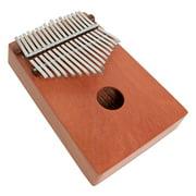 DOBANI Red Cedar 17-Key Thumb Piano Kalmiba Mbira Likembe