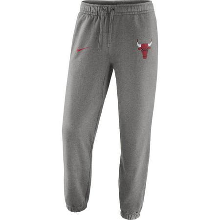 Chicago Bulls Nike Club Fleece Pants - Gray