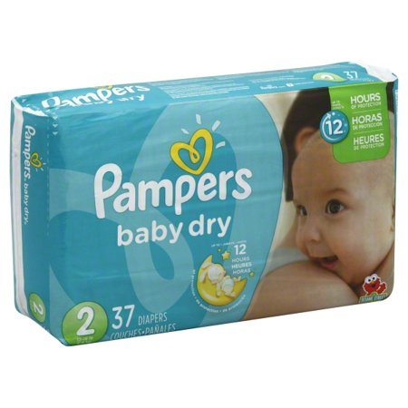 Pampers Baby-Dry Diapers are 3x drier for all-night sleep protection. Your baby can get up to 12 hours of overnight dryness with Pampers Baby-Dry sofltappetizer.tks: