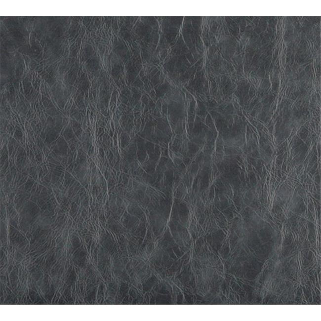 Designer Fabrics G630 54 in. Wide Grey, Distressed Leather Upholstery Grade Recycled Leather