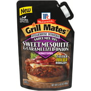 (4 Pack) McCormick Grill Mates Sweet Mesquite & Caramelized Onions, 2.83 oz