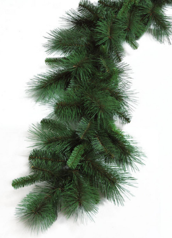 BadPiggies 8.9ft Unlit Christmas Garland Wreath Festive Holiday Decorations Ornaments Artificial