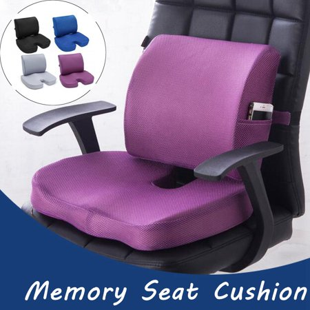 Moaere Everlasting Comfort Back Cushion Pure Foam Seat Cushion Lumbar Support Pillow Perfect To Relieve Back Sciatica