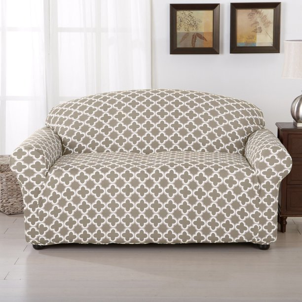Home Fashion Designs Brenna Collection Stretch Form Fitted Loveseat Slipcover Walmart Com Walmart Com