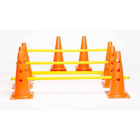Sports Invasion Agility Cone Hurdle Set