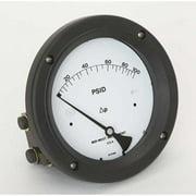 MIDWEST INSTRUMENT 140-SC-00-OO-100P Pressure Gauge,0 to 100 psi