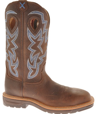 Men's Twisted X Boots MLCS003 Lite Weight Steel Toe Cowboy Work