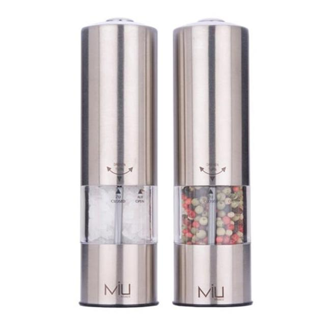 MIU France 90604 Stainless Steel Salt Mill