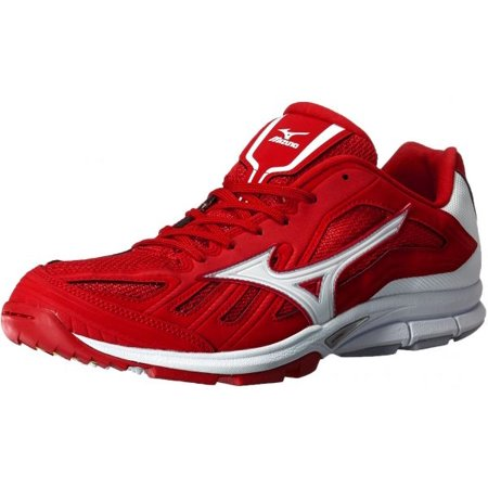 Mizuno Players Turf Shoes Red White Men s
