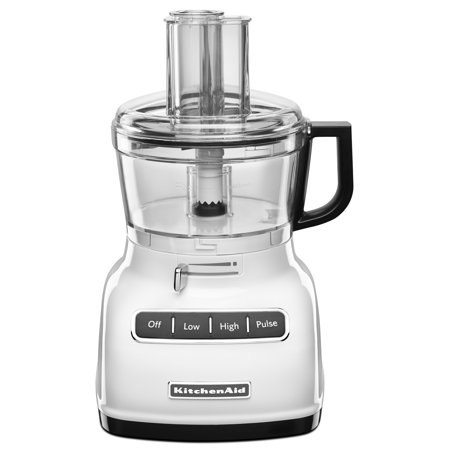 KitchenAid ® 7-Cup Food Processor with ExactSliceâ ¢ System White (KFP0722WH)